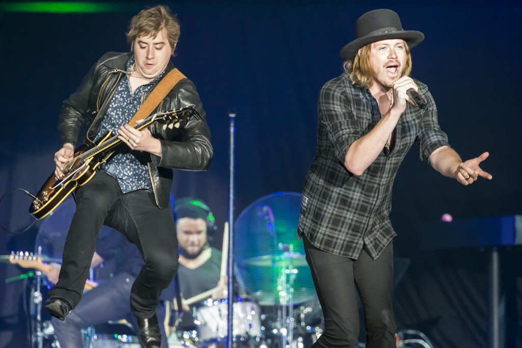 Photo by Al Fournier A Thousand Horses performing at the GM Centre.