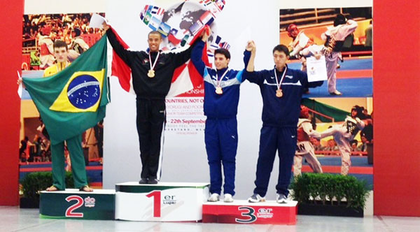 Adam copped the gold at the Junior Pan Am Games in Mexico four years ago at only 16 years old.