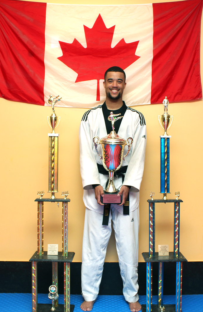 Adam has won several impressive medals over the years, including his most recent gold at the Canadian Championship.
