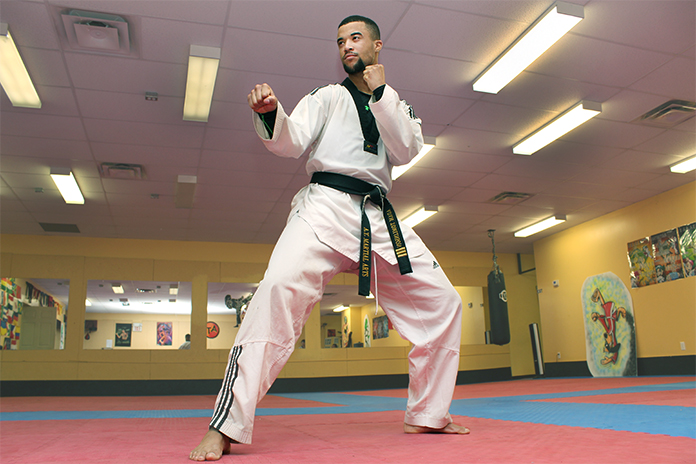 Provincial taekwondo athlete Adam Tomlinson is one of many scrambling for funds to get to the Olympics.