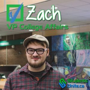 Courtesy of Zach Leveque-Wilson Zach Leveque-Wilson, a former student of Durham College, campaign poster from when he ran for the Student Association in 2015