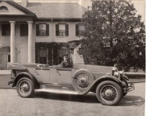 Photo courtesy of Parkwood Estate One of the first vehicles by McLaughlin Carriage Car Company