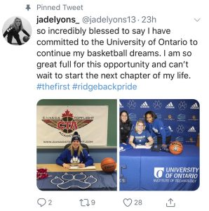 UOIT basketball recruit tweet.jpg