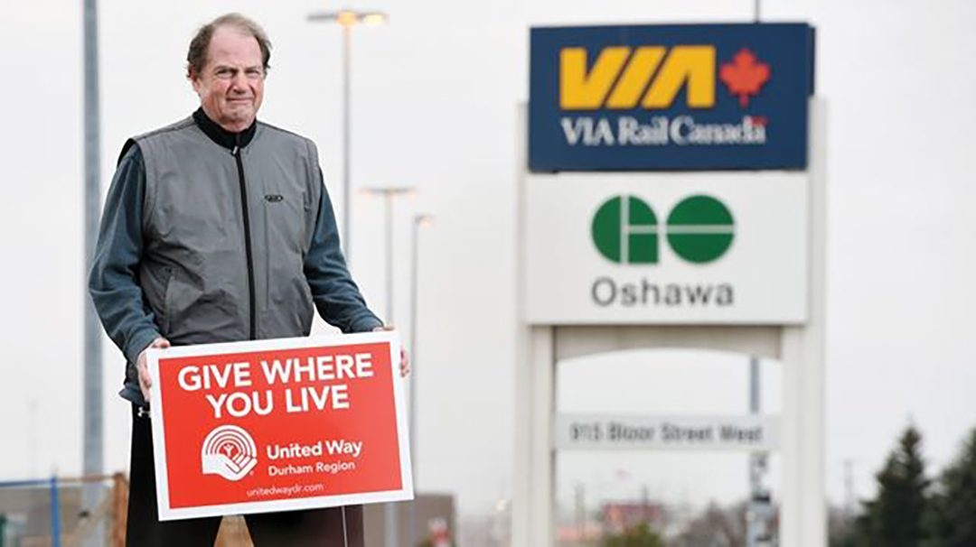 Robert Howard, chief possibility officer and vice-president of external relations at United Way Durham Region.