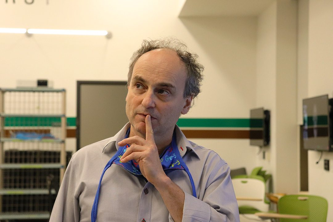 Lon Appleby is a Durham College professor in the school of interdisciplinary studies. Appleby founded the Global Class in 2010.