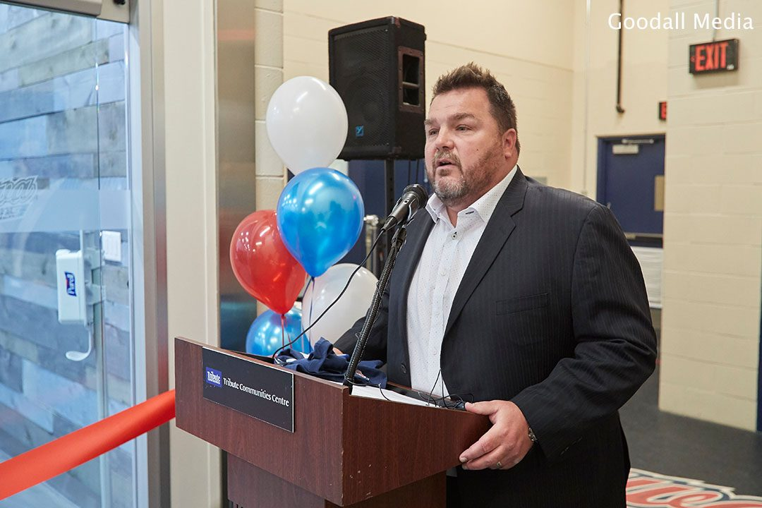 Roger Hunt, Vice-President and General Manager of the Oshawa Generals.