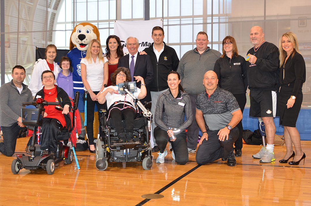 An event held by students in 2017 at the Abilities Centre, introducing all abilities to golf.