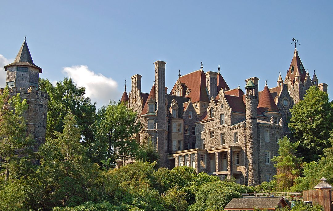 Boldt Castle is now a major landmark and tourist attraction.