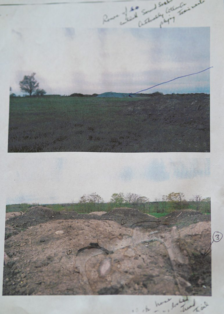 Allen Frank, a north Oshawa resident had found evidence if potentially contaminating materials such as tires, rebar and paper mill sludge being dumped at fill site owned by Hard-Co Construction on 618 Columbus Rd. E., the site ran from 2008 to 2016.
