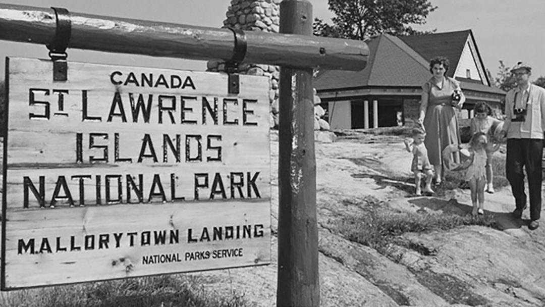 St. Lawrence Islands National Park was the original name of the park.